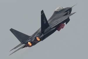 New photo of J-31 that clearly shows the operation of its after burner (photo by Nunainiu No. 1)