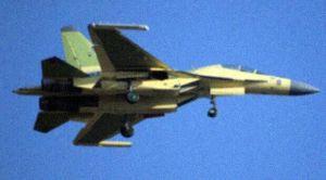China's new J-16 electronic warfare fighter jet